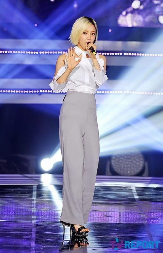 hyomin fake it sbs mtv the show (1)