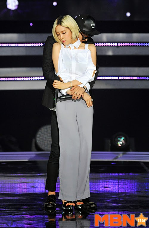 hyomin fake it sbs mtv the show (3)