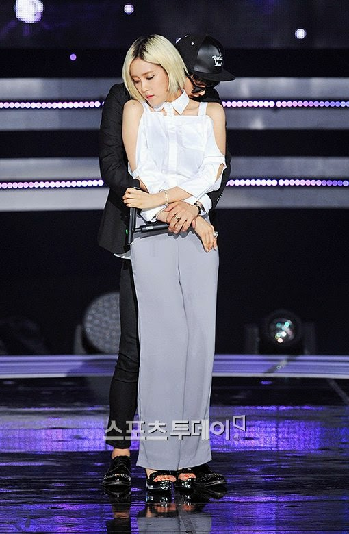 hyomin fake it sbs mtv the show (6)