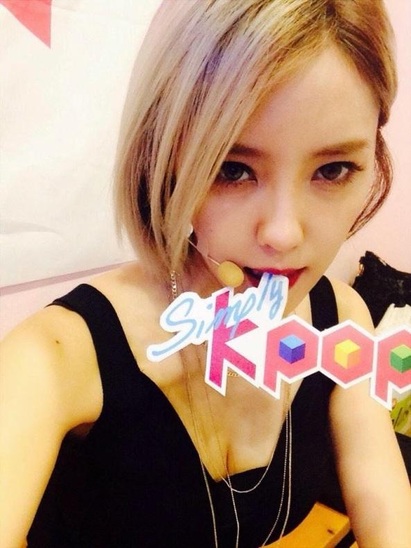 hyomin simply kpop