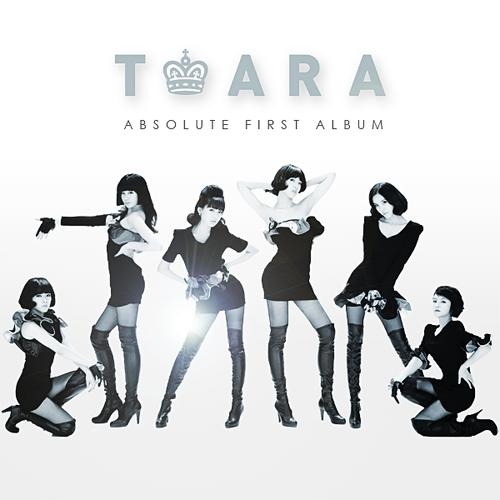 T-Ara _ Absolute First Album (2010, Volume 1) CD