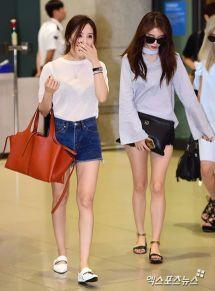 Hyomin and Jiyeon